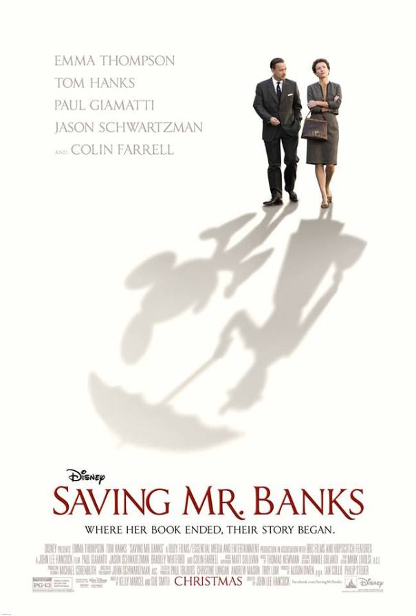 Cartaz Saving Mr. Banks