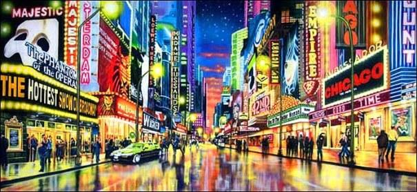 Na Broadway e no cinema