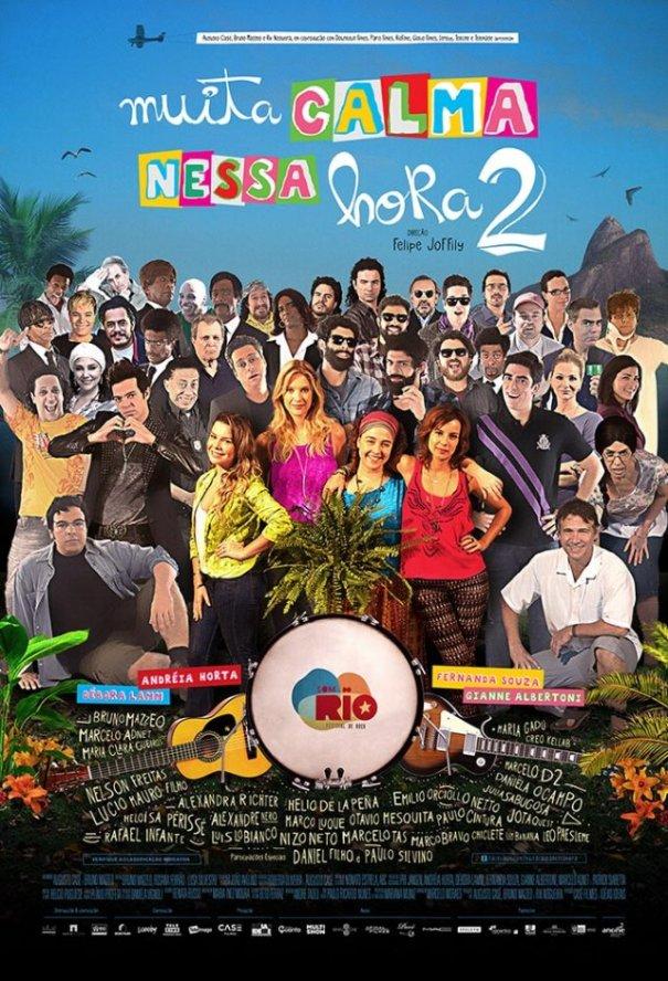 Muita Calma Nessa Hora 2 Poster