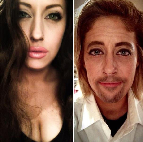 Carly Paige Angelina Jolie Brad Pitt