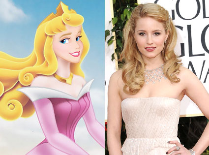 DIANNA AGRON AS AURORA