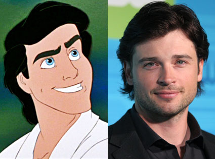 TOM WELLING AS PRINCE ERIC