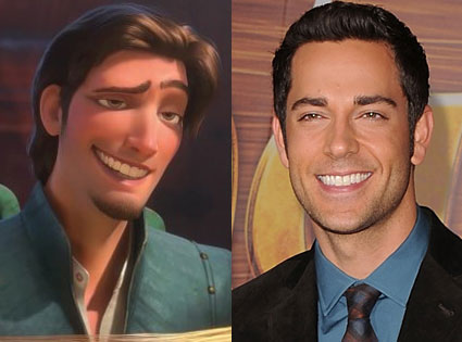 ZACH LEVI AS FLYNN RIDER