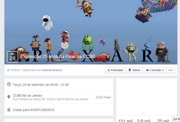 evento facebook pixar ccbb